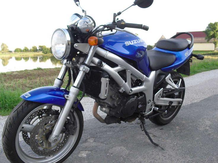 Unfall Suzuki SV 650, Bj.2002, 91300km