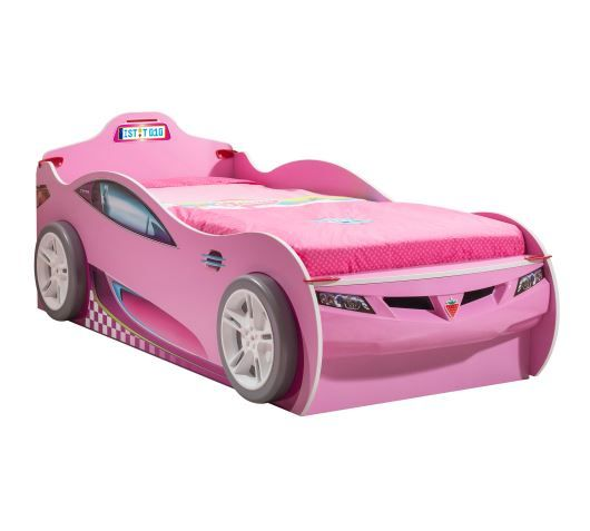 Coupe Carbed (With Friend Bed) (Pink) (90x190 - 90x180 Cm)