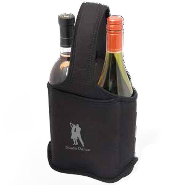 Two Bottle Neoprene Wine Bag/Caddy