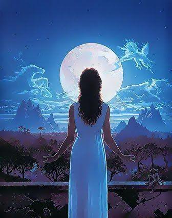 Питание и лунные качества женщин