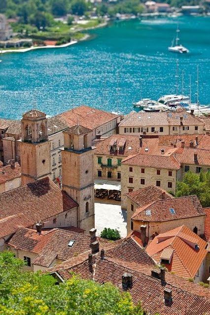 Montenegro, on the Adriatic Coast
