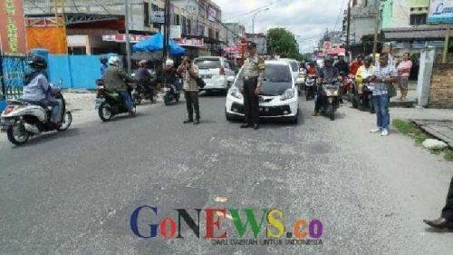 Polisi Selidiki Identias 4 Perampok Sadis di Jalan Paus Marpoyan Damai Pekanbaru