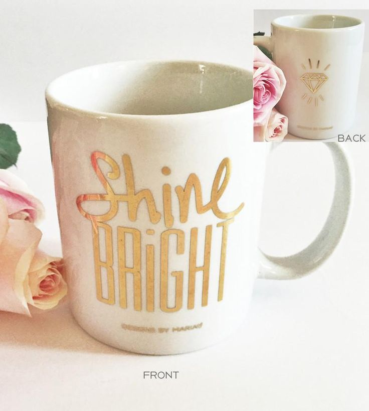 22K Gold Shine Bright Mug | Mug | Mugs | Coffee Mug | Coffee Mugs | Unique Mugs | Unique Coffee Mug | Coffee Cup | Tea Cup | Coffee Lover | Coffee Time | Mugs Designs | Cute Mugs | Coffee Quotes | Coffee + Tea time | Coffee Humor