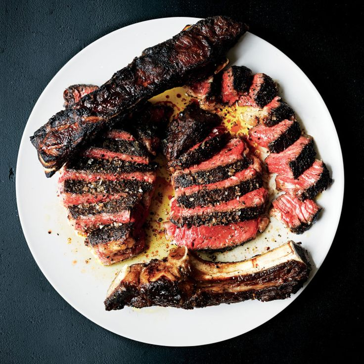 Grilled steak is our real favorite pastime.