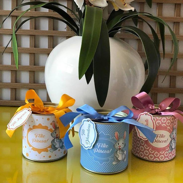 Lembrancinhas de Páscoa produzidas por Mônica Guedes