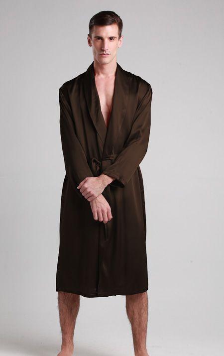 robe de chambre en soie pour homme pyjama homme soie pinterest robe silk et silk kimono robe. Black Bedroom Furniture Sets. Home Design Ideas