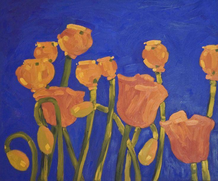 Summer Rhapsody - oil on canvas