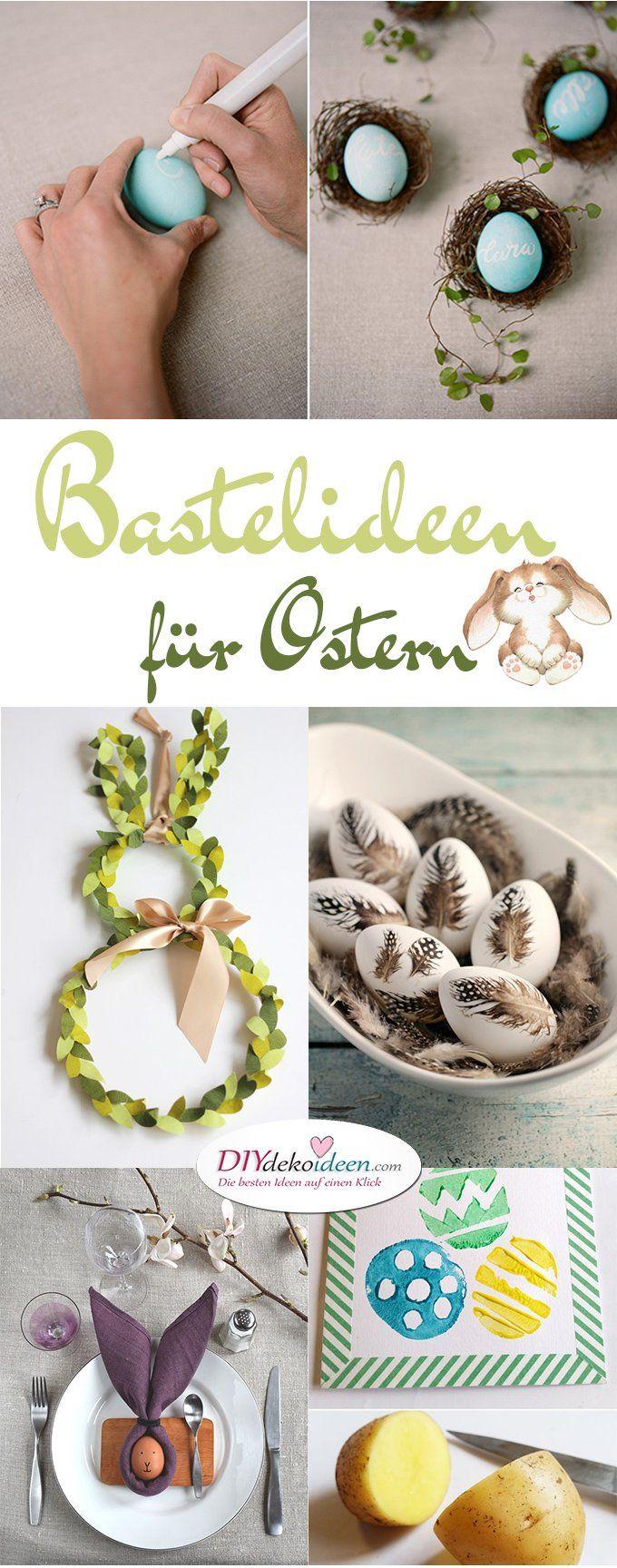 Süße Bastelideen für Ostern, die den Frühling in Ihr Zuhause bringen   – Frühling + Ostern