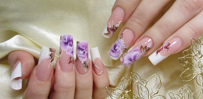 Китайская роспись на ногтях: фото пошагово, видео