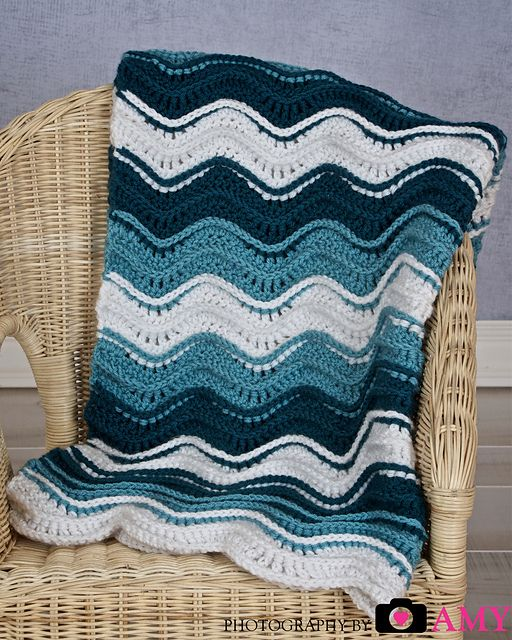 1000+ Images About Crochet Ocean Afghan Ideas On Pinterest
