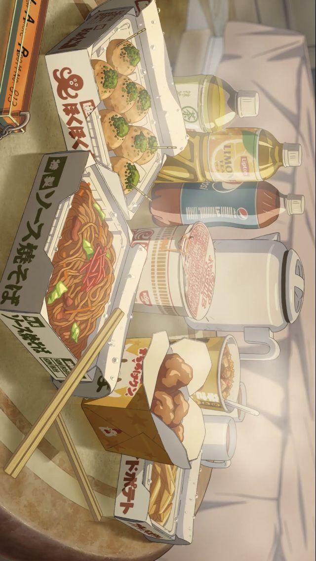 Anime Food Wallpaper Aesthetic Anime Anime Wallpaper Iphone Kawaii Wallpaper