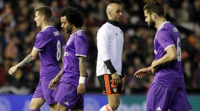[VIDEO] Cuplikan Gol Valencia 2-1 Real Madrid La Liga Spanyol