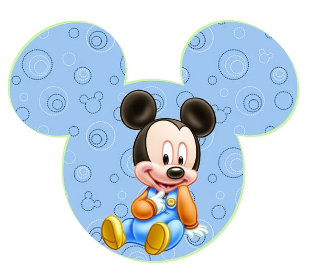 Bebés Disney: imprimibles gratis. 4 modelos diferentes.
