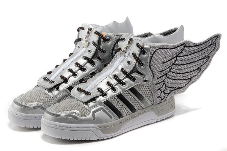 Baskets Jeremy Scott Leather Wings 2.0 High Top Prix