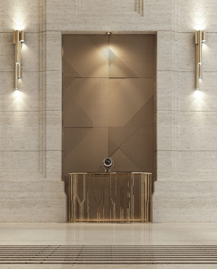 Entrance Lobby on Behance