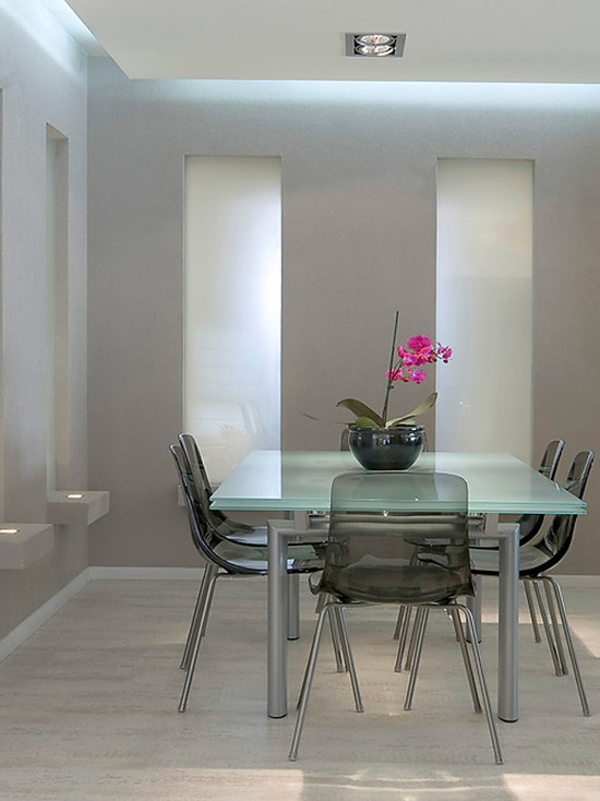 Frosted Glass Dining Table Design, Pictures, Remodel, Decor And Ideas    Page 2