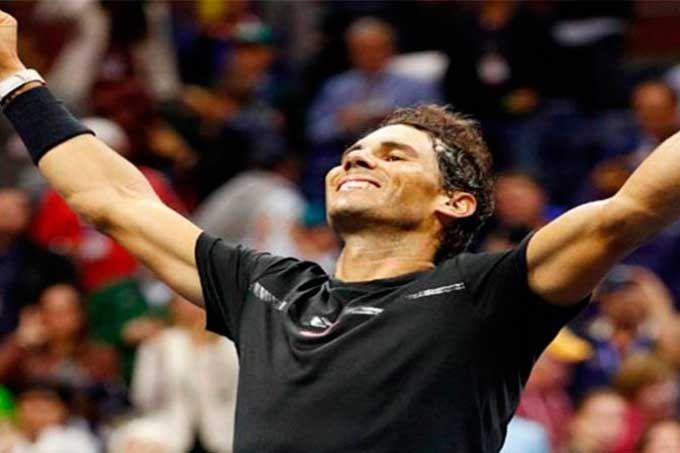 Rafa Nadal liquidó a Del Potro y clasificó a la final del Abierto de EEUU #Deportes #Tenis