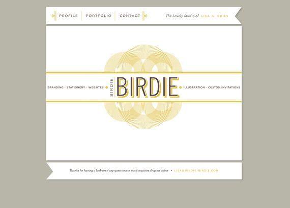website for BIRDIE is amazing - inspired @ rock candy media