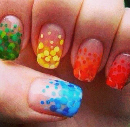 Super cool nails and i love the yellow ones! Add glitter and you've got a  winner! - Best 25+ Cool Nail Art Ideas On Pinterest Pretty Nails, Cool