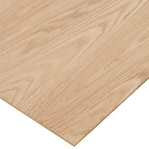 Columbia Forest Products 1/4 in. x 2 ft. x 2 ft PureBond Red  Oak Plywood Project Panel  at The Home Depot $5.40