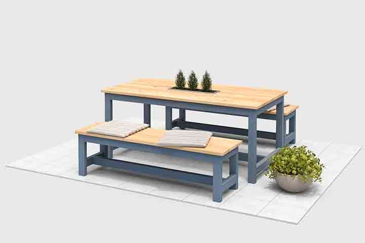 Tavoli Da Giardino In Legno Obi.Gartentisch Richard Selber Bauen Alle Mobel Falegnameria