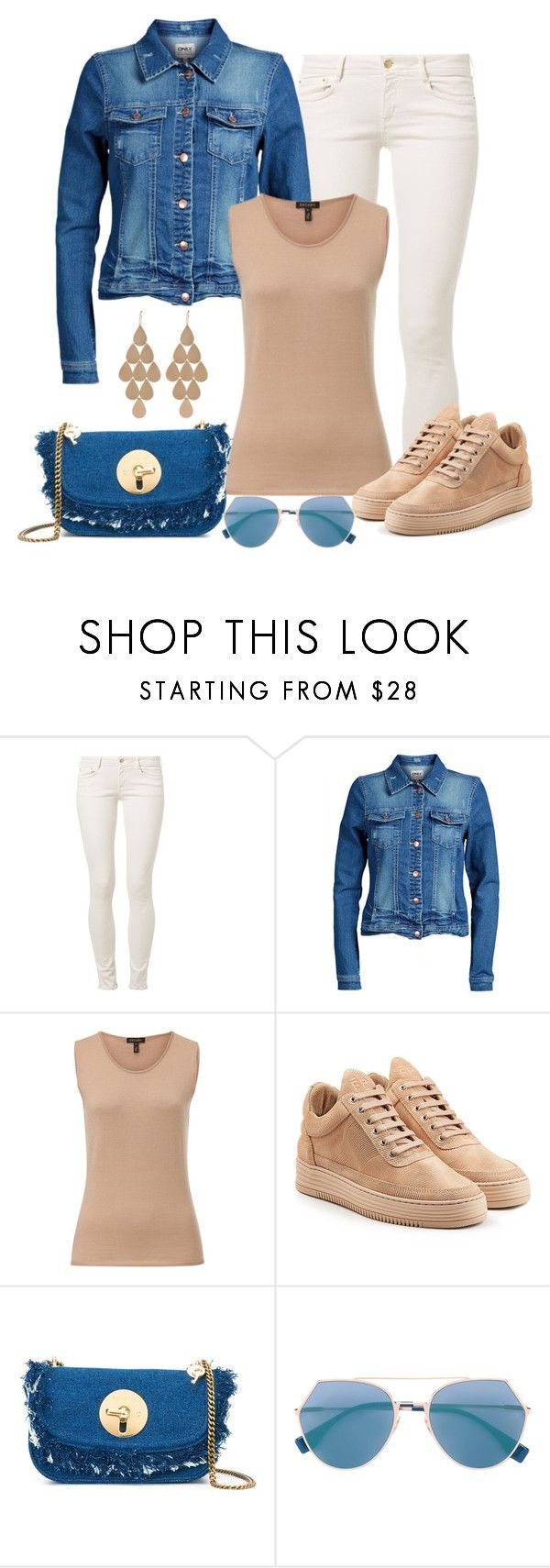 """""""Untitled #1486"""" by gallant81 ❤ liked on Polyvore featuring CIMARRON, ONLY, ESCADA, Filling Pieces and Irene Neuwirth"""