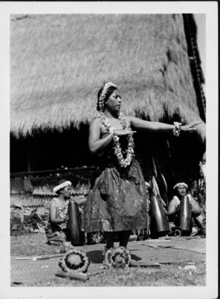 Hula dancer.