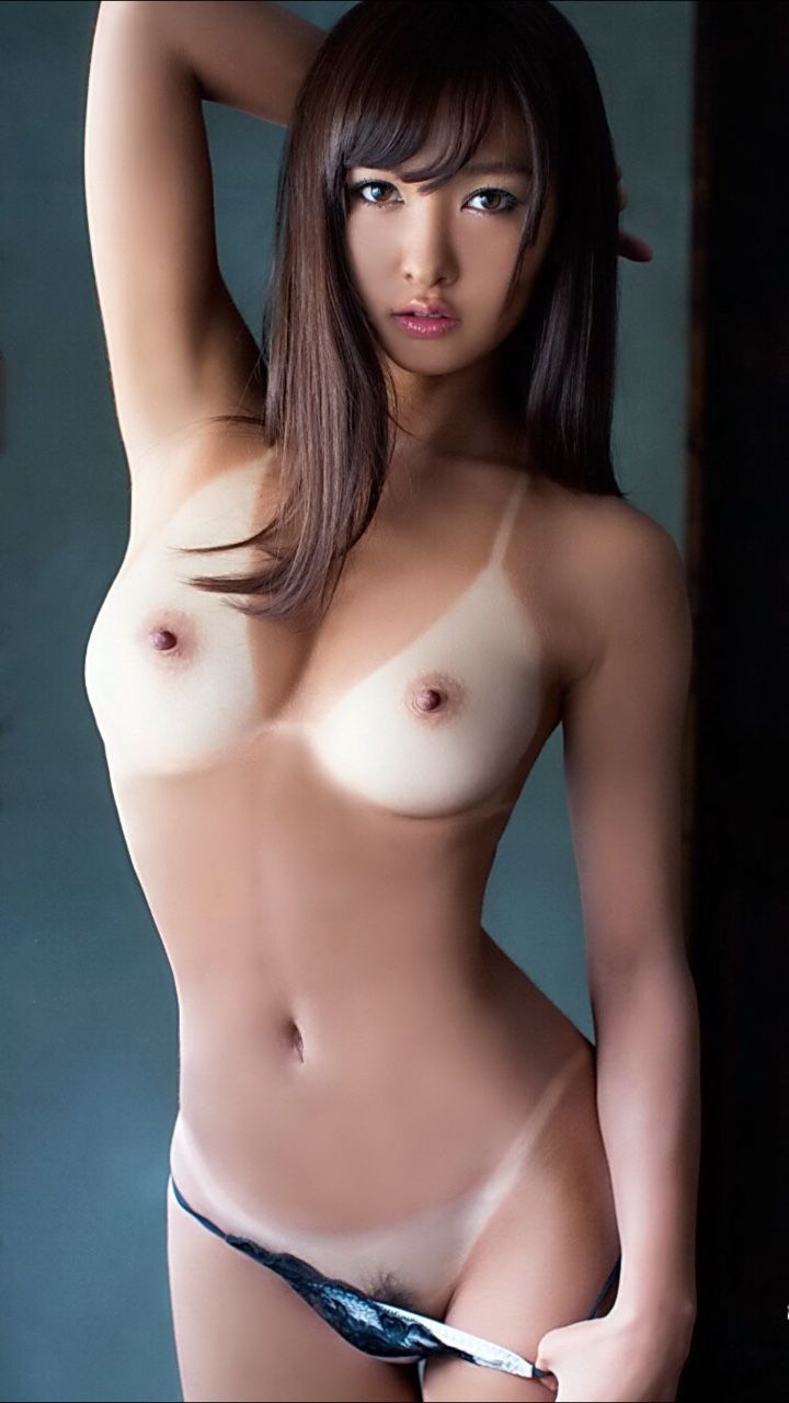 Tanned asian sex