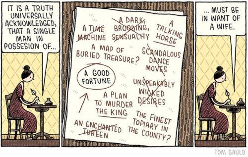 For the Guardian Review.Pre-order my new book 'Baking... #YOU_RE_ALL_JUST_JEALOUS_OF_MY_JETPACK #Tom_Gauld #Arsetculture