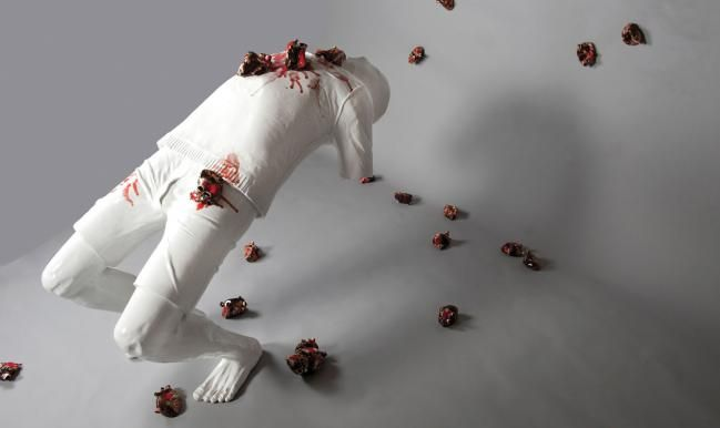 """The """"Body and Soul"""" exhibit started Septeber 24th at the Museum of Arts and Design. Featuring artists from around the world, ceramic pieces are used to convey strong, human emotions through the human figure.   http://madmuseum.org/exhibition/body-soul#"""