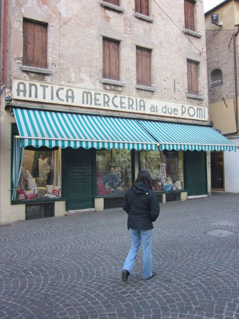 Shops around Treviso