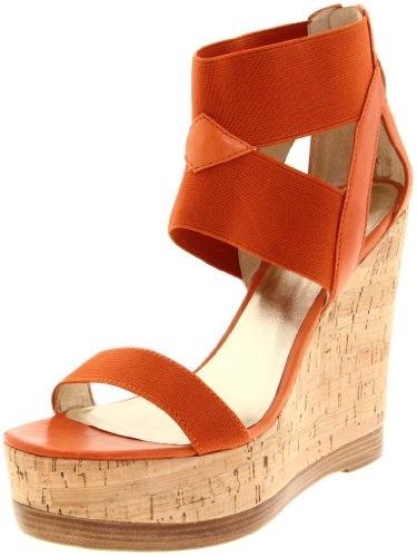 Pelle Moda Orange Wedge
