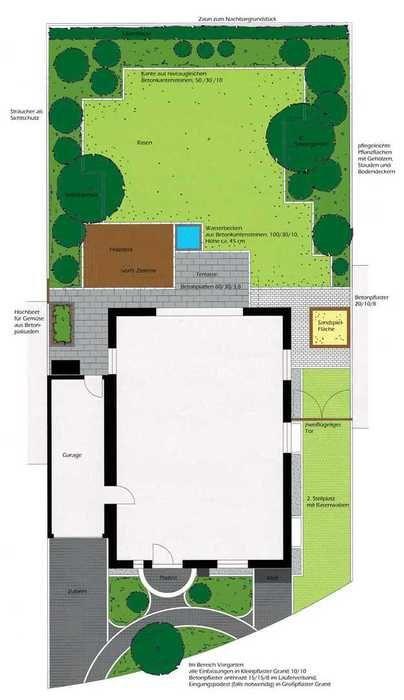 Cute Lernen Sie die abschlossenen Projekte zum Thema Garten und Landschaftsbau von Gartenplanung Barbara Rinio in