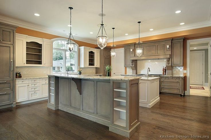 two tone kitchen cabinets | Pictures of Kitchens - Traditional - Two-Tone Kitchen Cabinets (Page ...