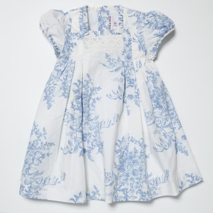 Girl Dress. NECK & NECK
