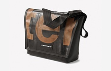 F14 Dexter Messenger bag by Freitag - A bag made of used truck tarpaulins, car seat belts and bicycle inner tubes ; only unique pieces of super-resistant waterproof AND gorgeous bags ; perfectly fits with my Macbook Air 13' :-) See the vids on the freitag's website !