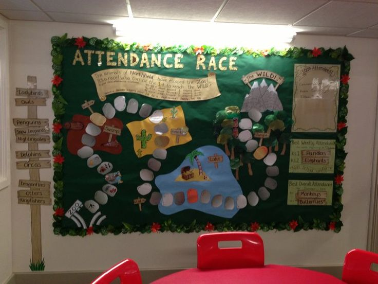Classroom Attendance Ideas : Pshe and rules attendance race zoo