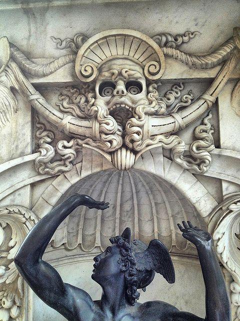 Benvenuto Cellini, Sculpture and Relief,  Loggia dei Lanzi, Piazza della Signoria, Florence. Benvenuto Cellini, Bronze statuette