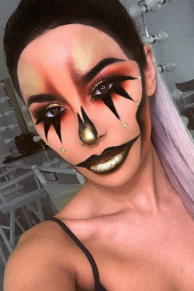 Halloween Looks Scary.Pin By Leah Pontious On Halloween Makeup In 2019 Beautiful