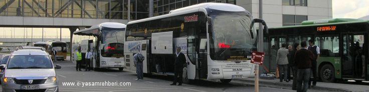 Havataş Kadıköy - Sabiha Gökçen Havalimanı Otobüs Kalkış Noktaları ve Sefer Saatleri