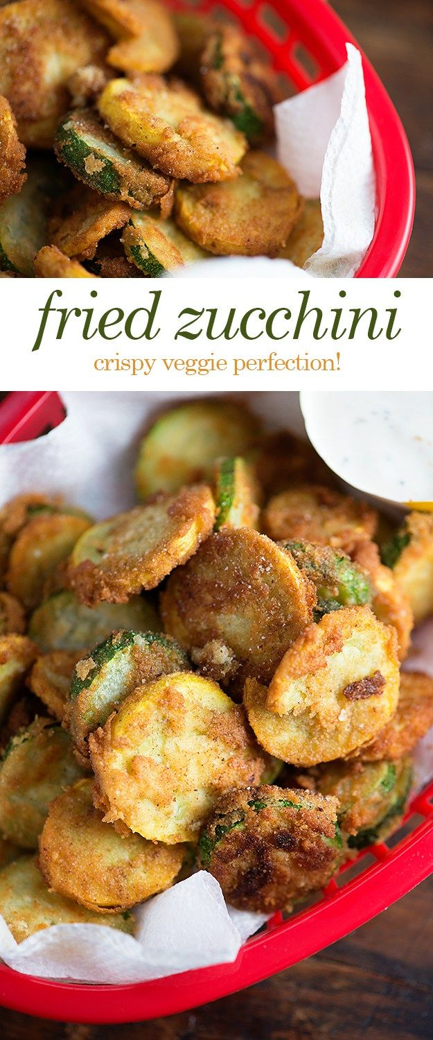 Fried Zucchini - this low carb version of fried zucchini is a new family favorite snack! My kids even love to eat their veggies like this!