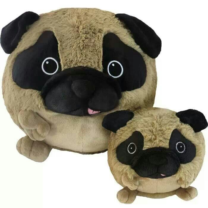 Animal Squishy Pillows : Squishy pugs
