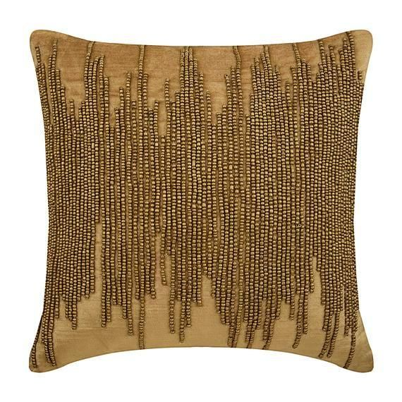 Decorative Gold European Cushion Cover 24x24 Etsy Gold Throw Pillows Gold Pillows Velvet Throw Pillows