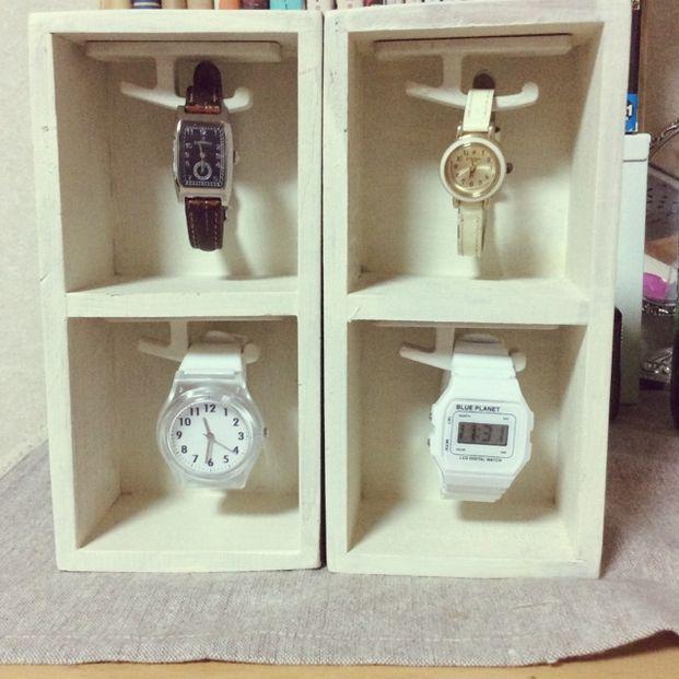 アクセサリーの収納方法は色々あっても、ある程度場所をとってしまう腕時計の収納は難しく、頭を悩ませている方は多いのでは?そんな方の為に、腕時計の収納アイデアを集めてみました!