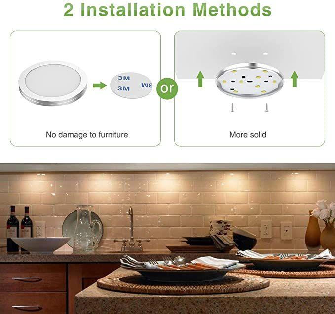 Amazon Com Ustellar Updated Led Under Cabinet Lighting Kit