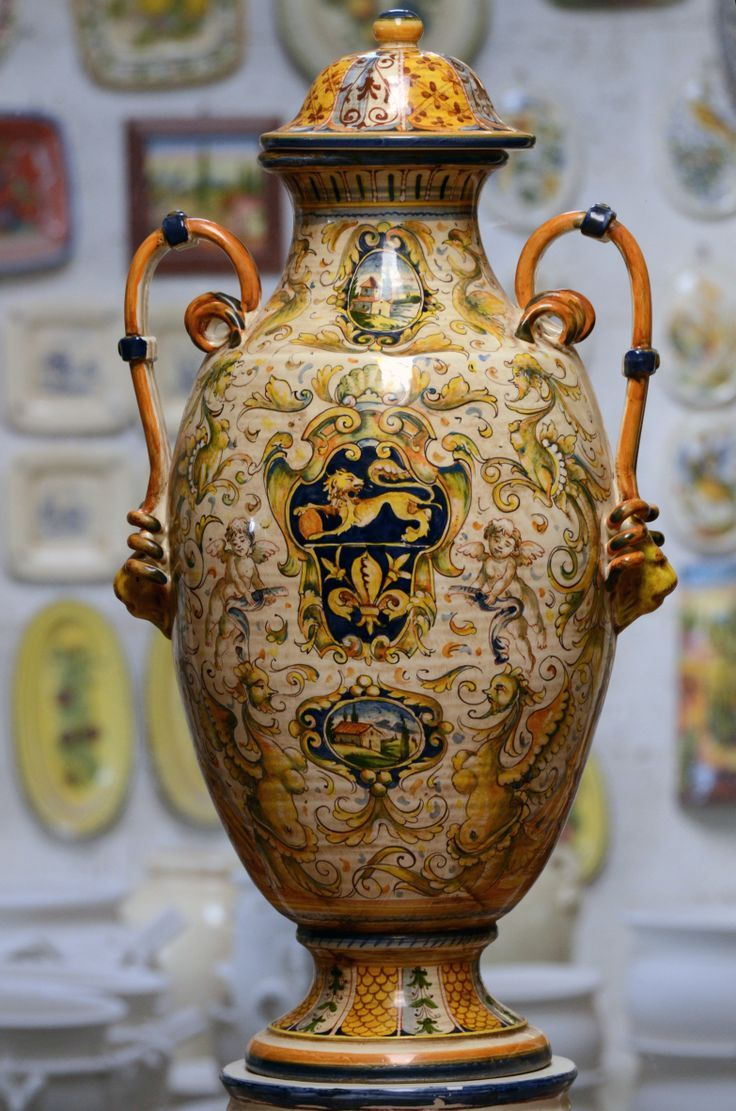 66 best DERUTA images on Pinterest   Porcelain, Italian ...