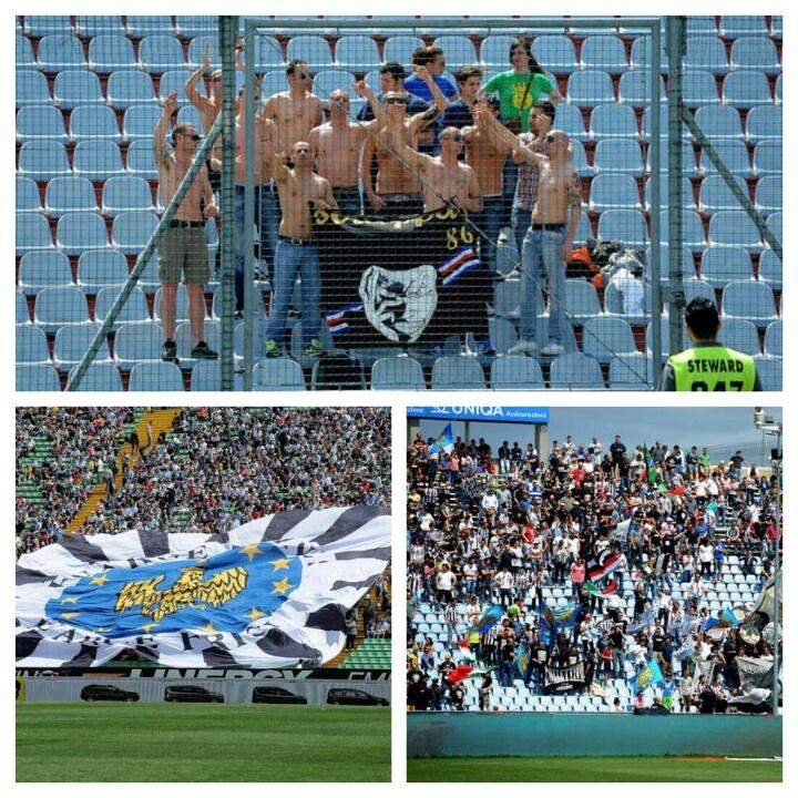 Fans Udinese & Fans Sampdoria