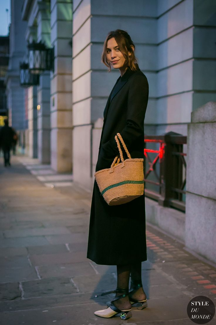 Alexa Chung by STYLEDUMONDE Street Style Fashion Photography