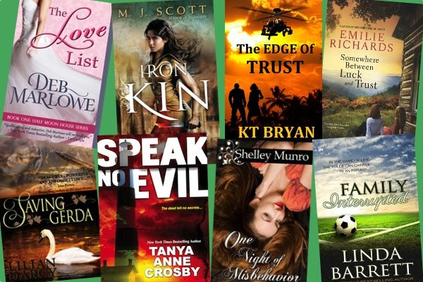 Hump Day Books from Deb Marlowe, M.J. Scott, K.T. Bryan, Emilie Richards, Lilian Darcy, Tanya Anne Crosby, Shelley Munro, and Linda Barrett