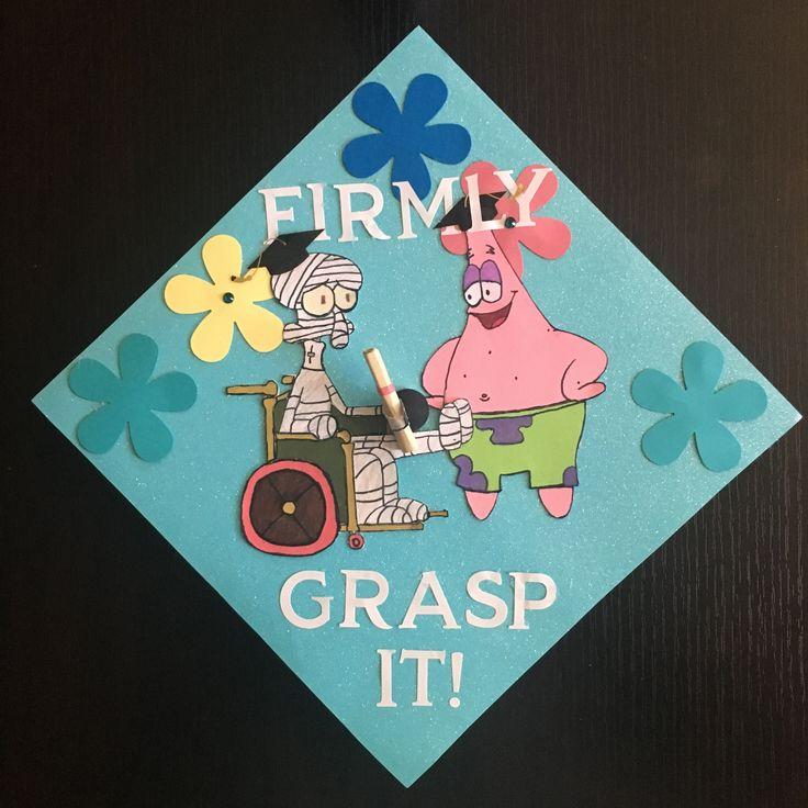 Spongebob graduation cap! I did that!